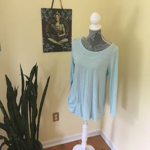 Simple top with oversized pocket from j Jill